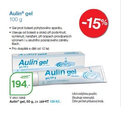 Aulin gel proti bolesti